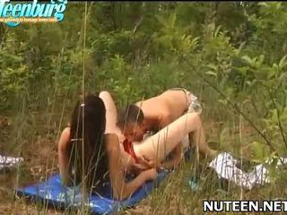seks in de buitenlucht, mooi buiten- film, u naakt outdoors gepost