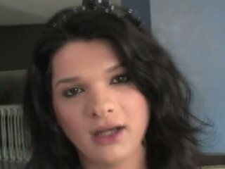 This ultra hot tranny is fucking fine