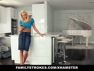 Familystrokes - Hot Teen Fucks Her Step-cousin in.
