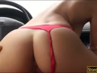 Booby nikita bellucci pounded în the cab