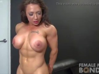 big tits, hottest fbb, quality female muscle channel