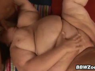 Chunky Grandma Wants Her Fat Pounded