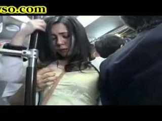 Milf being fodido em autocarro