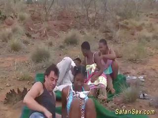 een orale seks film, deepthroat, groot groepsseks