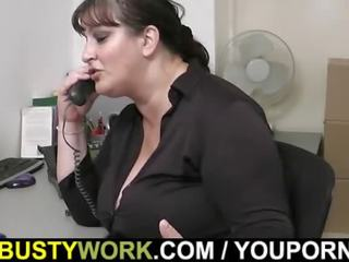 full bbw rated, office sex, busty boss rated