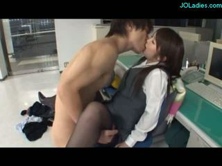 blowjobs, office, asian, on her knees