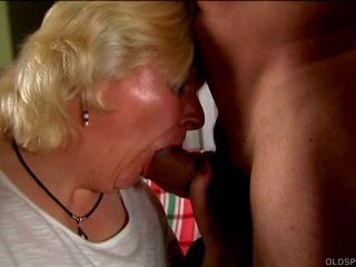 Cute & Cuddly Old Spunker is Such a Hot Fuck and Loves