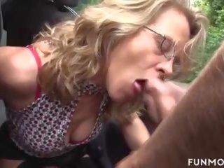 German Granny in Public, Free Fun Movies Channel Porn Video