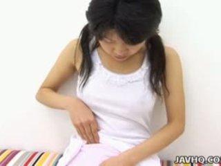 brunette, japanese, solo