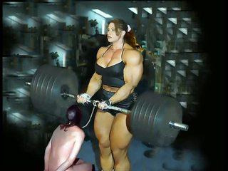 Female ボディービル fbb bodybuilder 大きな美しい女性 フェムドム