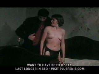 watch cum, clit fucking, nice vintage