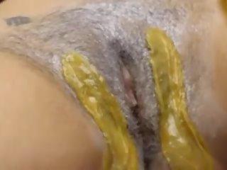 Waxing Bikini Tutorial Part 3, Free Free Waxing Porn Video