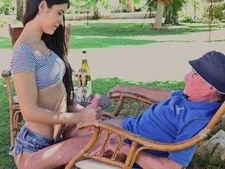 Dreamgirl with mature man 2