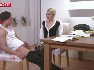 Letsdoeit - Hot Mom Fucks New Stepson on First Meeting!