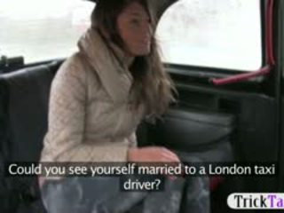 Babe From Latvia Looking For A Husband Fucked By Cab Driver