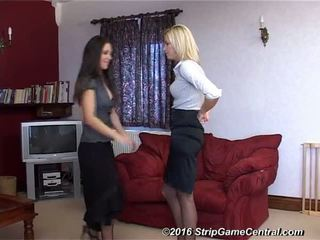 Jessie & Samantha Play Strip Tickle, Free Porn 2f