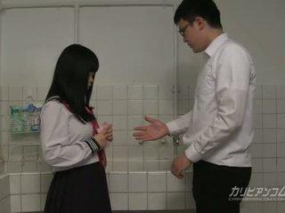 õpilane, jaapani, blowjob