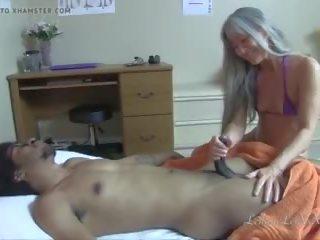 interraciale, kleine tieten, zien massage seks