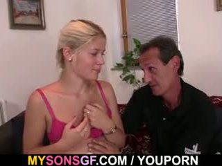 He finds cheating gf with oldman