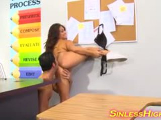 Firm Schoolgirl Enjoys Hardcore Teacher Fuck