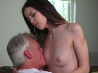 Innocent babe fucked by Grandfather - Porn Video 771