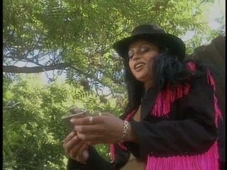 Cowgirl slut Nikita Denise gives a blowjob