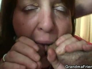 all mommy fun, old pussy, real grandmother