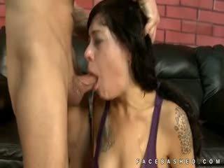 Vanessa Naughty Extreme Face Fuck