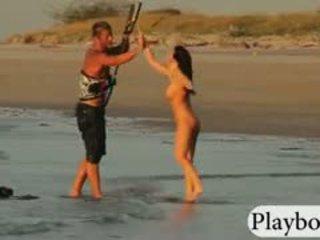 alle realiteit, online grote borsten, mooi strand