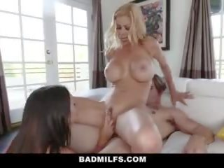 student, bigtits, cougar, 3some