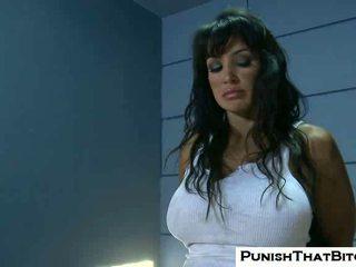 Lisa ann gets forzato rozzo punishment