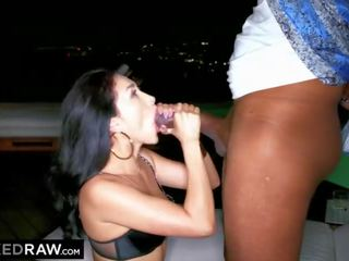 BLACKEDRAW Latina wife sodimized by the biggest black cock ever