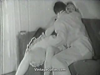 Survey Man Picks up a Chick 1950s Vintage: Free Porn 1b