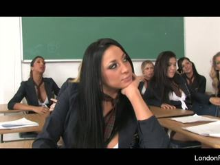 Schoolgirl Orgy with London Keyes Alexis Texas and More