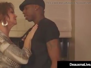 Cougar Deauxma Fucked in Her Mature Muff by a Big Black