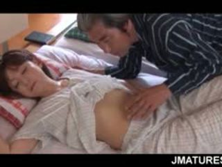 แก่แล้ว เอเชีย แม่บ้าน given a หวาน ตอนเช้า หี เลีย