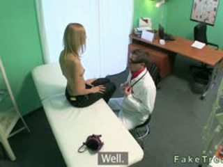Small Tits Blonde Banged By Her Doctor In Fake Hospital