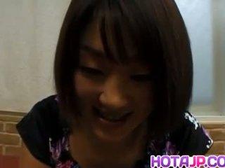 Miyuki hashida sucks dong dan gets air mani