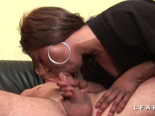 Casting anal jolie black prise en double penetration grave