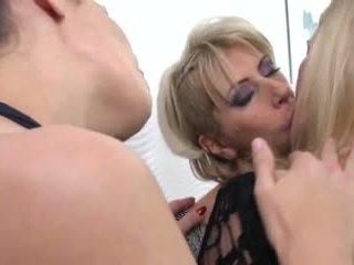 Mature Lesbian Group Sex
