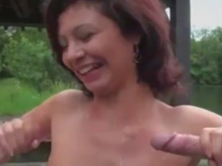 French Cougar Anal and DP, Free French Anal Porn Video c5
