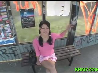 hot naked video, public, public nudity clip
