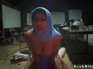 Arab new videos and muslim virgin Sneaking in the Base!