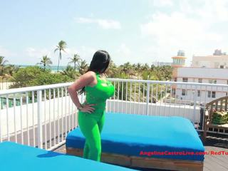 Big Titted Angelina Castro FUCKS on ROOFTOP!?