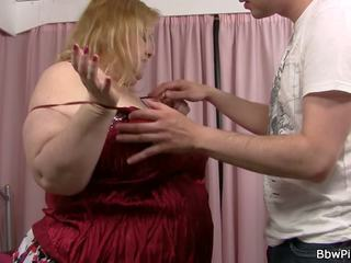 Busty Plumper gets Her Fat Pussy Licked and Fucked: Porn 14