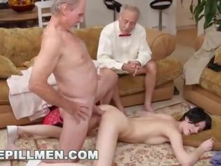 fun brunette action, young, best nice ass