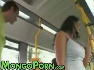 φύλο, δημόσιο, λεωφορείο
