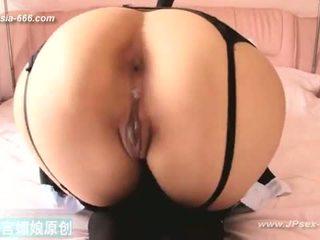 Ķīnieši mazulis gets anāls creampies.2