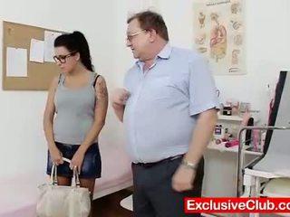 see brunette, nice vagina free, most doctor