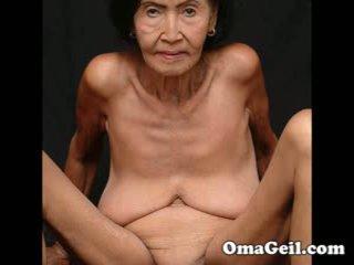 Omageil ใหญ่ การเก็บ เก่า grannies และ senior หญิง